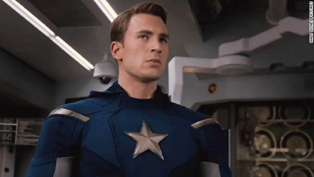 """Chris Evans first donned red, white and blue for 2011's """"Captain America: The First Avenger."""""""