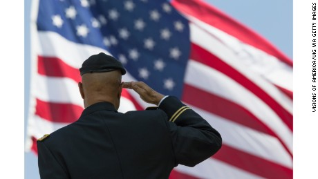 Of course, a divided America can't agree on the definition of patriotism