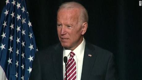 Biden almost announces he's running for president in Delaware speech