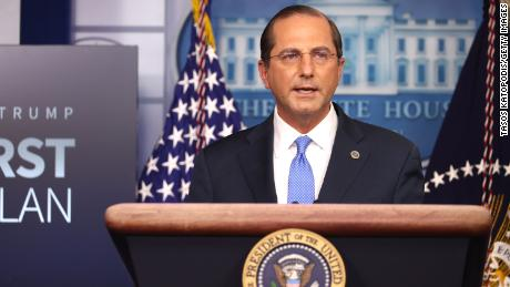HHS Secretary Alex Azar complains of tarnished legacy in resignation letter to Trump