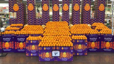 Sumo mandarins on display at a Sprouts Farmers Market store   USA Press Agency