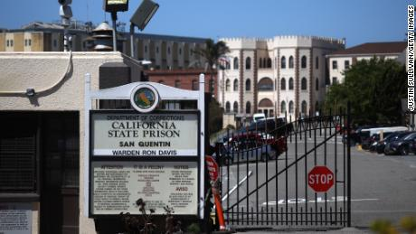 A view of San Quentin State Prison in California on June 29, 2020. San Quentin is among many prisons, jails and correctional facilities to experience a coronavirus outbreak.
