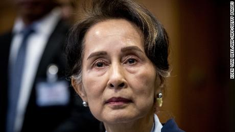 Myanmar's Aung San Suu Kyi charged with violating state secrets as wireless internet shutdown begins