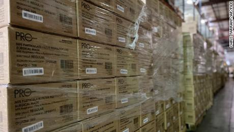 FEMA okayed export of N95 masks as workers cried for more