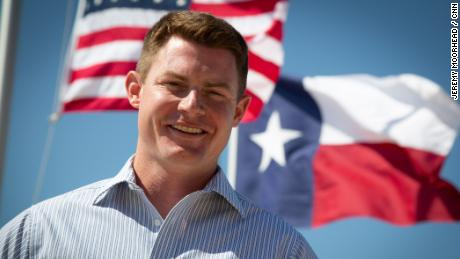 Michael Wood, a Republican candidate for the US House special election