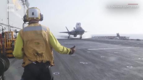 Trump's acting defense secretary called F-35 fighter jet program 'f----d up'