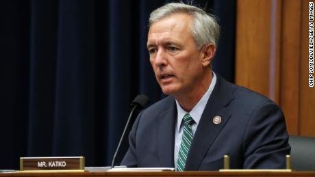 Rep. John Katko speaks during a hearing on Capitol Hill in September 2020.