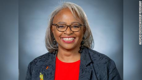 """Scholar Carol Anderson, author of """"The Second: Race and Guns in a Fatally Unequal America."""""""