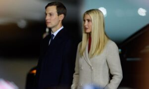 Ivanka Trump and Jared Kushner distance themselves from the former President