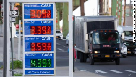 Energy costs are stoking inflation. Just look at US gas prices
