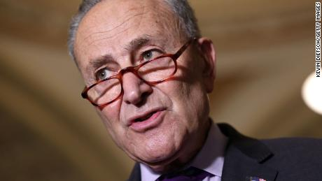 Chuck Schumer picked the wrong moment to go on a partisan rant