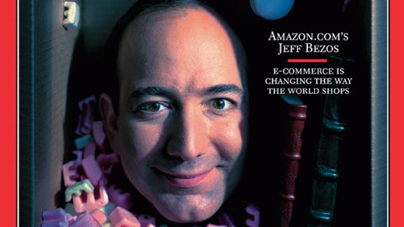 In 1999, Bezos was named Time magazine's Person of the Year.