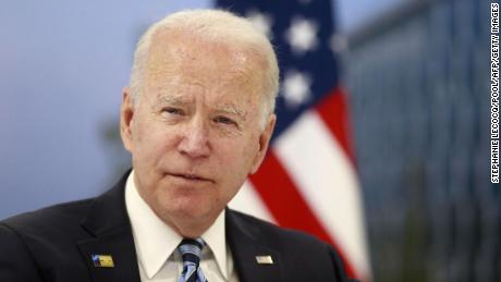 NATO leaders at summit back Biden's decision to pull troops out of Afghanistan