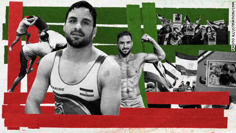 Navid Afkari: Executed Iranian wrestling star's voice is 'everywhere now'