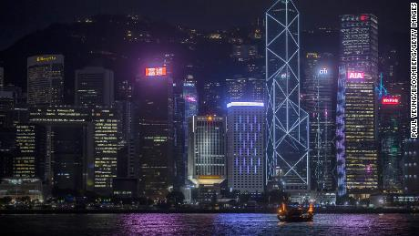 Washington is warning American firms about doing business in Hong Kong