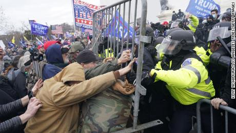 Protesters storm the US Capitol in January, driven by former President Trump's claims of election fraud. A similar assault took place in South Africa as a White mob tried to prevent a peaceful transition to power.