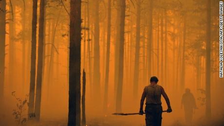 Russia is increasingly struggling with wildfires.