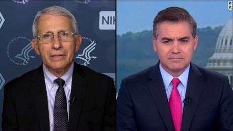 Polio would still exist in the US if the 'false information' currently being spread existed decades ago, Fauci says