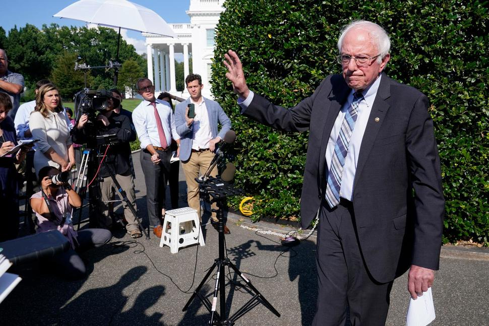 Once Rivals, Biden and Sanders Are Now Partners in Power