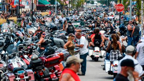South Dakota's Sturgis Motorcycle Rally: A 'cautionary tale' in the age of Covid-19