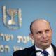 Israeli prime minister Naftali Bennett holds a press conference in Jerusalem