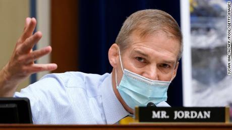 Rep. Jim Jordan of Ohio speaks during a hearing in April.