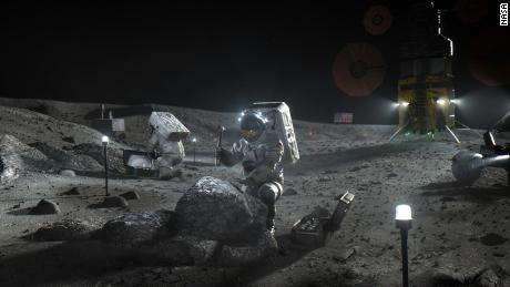 Blue Origin protest of NASA's SpaceX moon contract denied