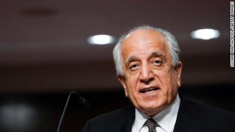 WASHINGTON, DC - Zalmay Khalilzad, special envoy for Afghanistan Reconciliation, testifies before the Senate Foreign Relations Committee on April 27, 2021 in Washington, DC.
