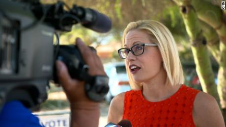 'She is just absolutely standing in the way': Sinema's critics in Arizona speak out