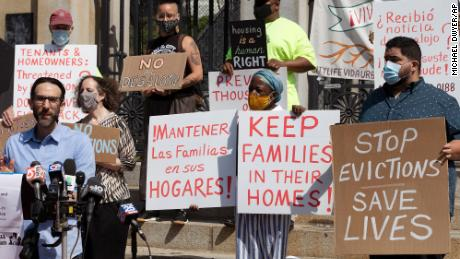 CDC announces limited, targeted eviction moratorium until early October