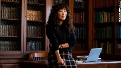 Sandra Oh in 'The Chair.'