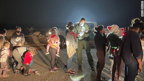 Migrants, many fleeing desperate circumstances exacerbated by the pandemic and climate change, lined up to be processed by United States Border Patrol agents. Many of the migrants were unaware of the implications of Title 42.