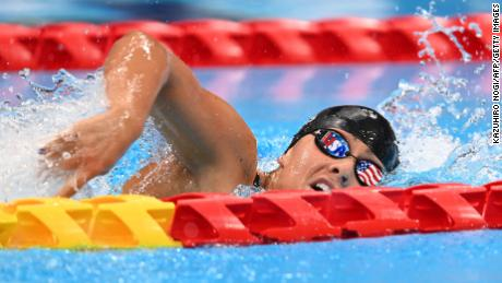 Anastasia Pagonis won gold during the women's 400m freestyle swimming final at the 2020 Paralympic Games.