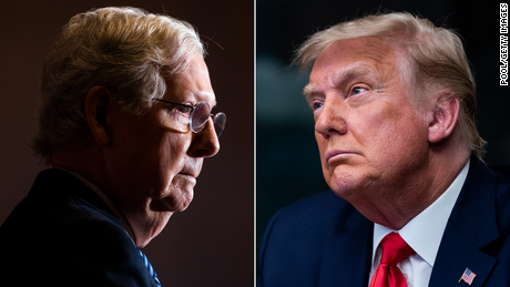 Why McConnell and Trump are on a collision course