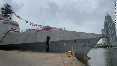 US Navy christens only warship named for a foreign capital