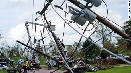 Power could be out for weeks in Louisiana. Avoiding long outages will be incredibly expensive