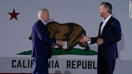 Biden calls Newsom recall results 'a resounding win' for 'strong vaccine requirements'