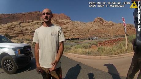 Bodycam footage from Moab police that shows them talking with Brian Laundrie.