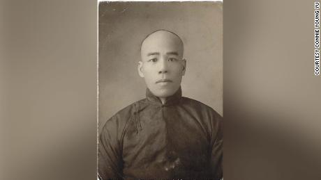 Young Wah Gok is pictured in 1891.